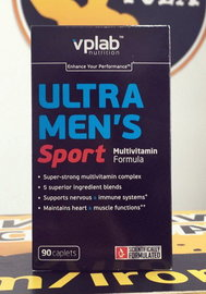 VP Ultra Men's Sport Multivitamin Formula 90 каплет