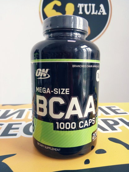 BCAA 1000 Caps (Optimum Nutrition) 200 caps