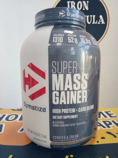 Super Mass Gainer (Dymatize) 2720 g