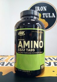 Optimum Nutrition Superior Amino 2222 160 tab
