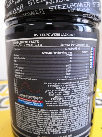 STEEL POWER AMINO-X 250 гр