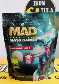 MAD WHEY & BEEF MASS GAINER 1000 гр