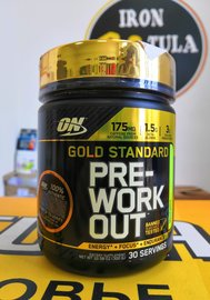 Optimum Nutrition PRE-Workout 300 гр